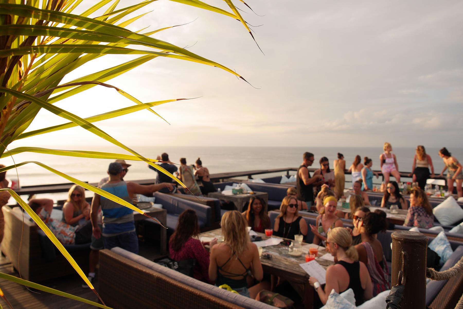 Yoga Retreat Bali Sunset