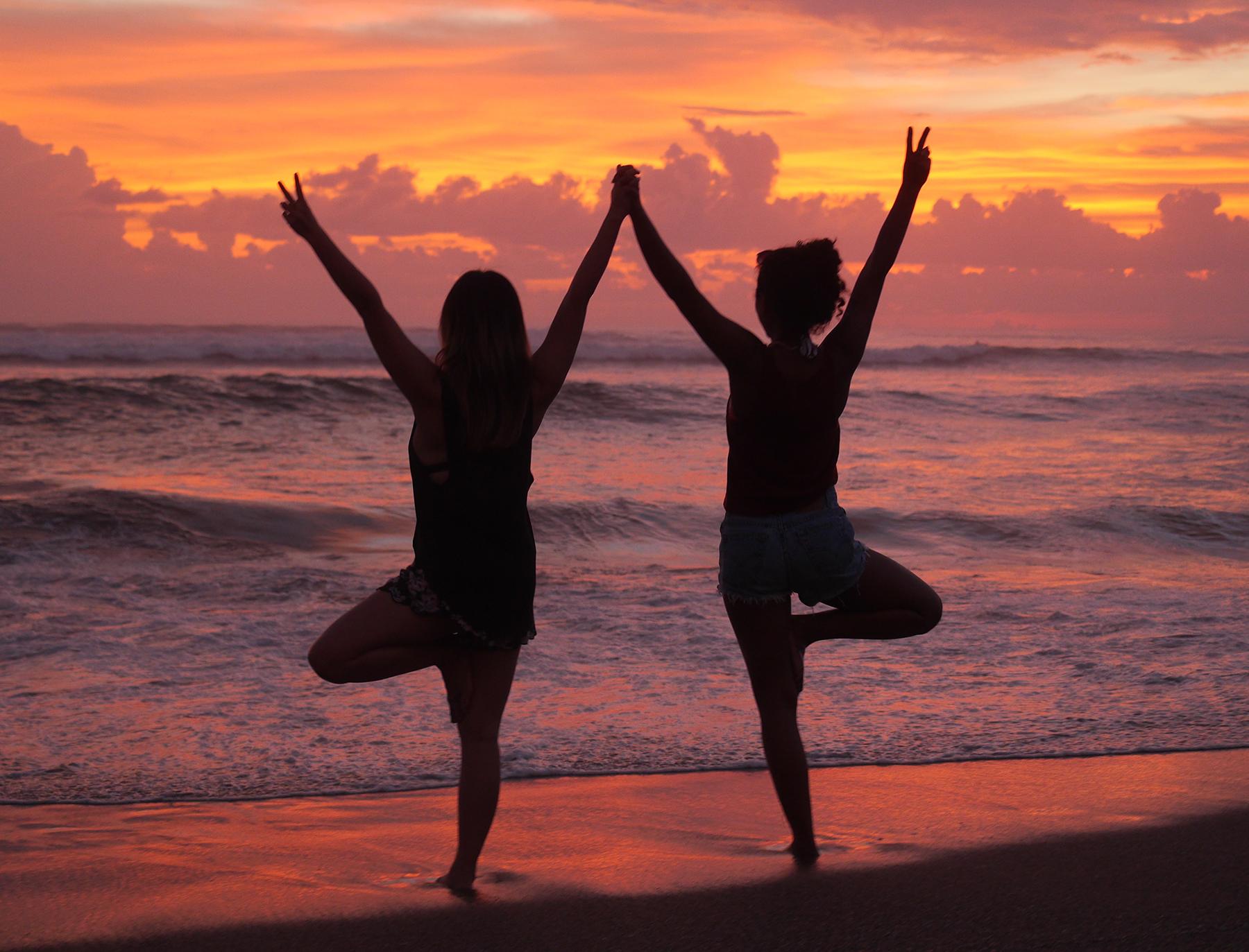 Yoga Retreat Bali Sunsets