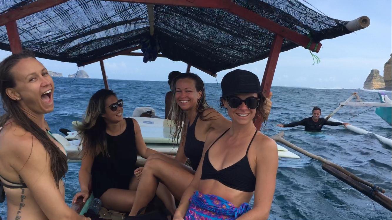 Surfer Girls Bali Yoga Retreat