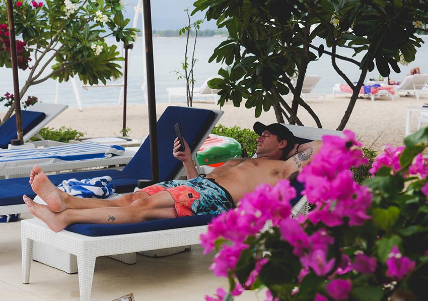 Yoga Retreat Bali relaxing