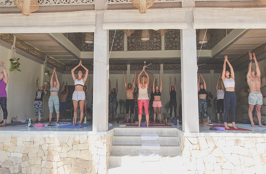 Yoga Retreat in Bali Paradise