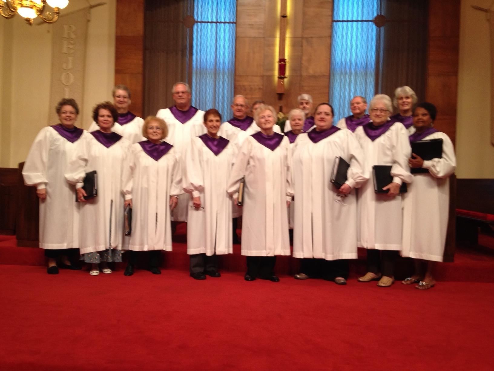The St. paul Chancel Choir