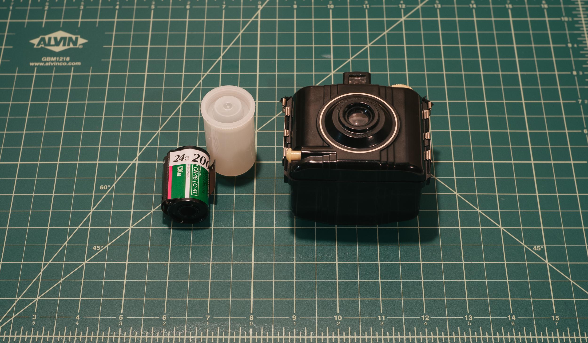 Expired FujiColor SuperHQ / Kodak Baby Brownie Super