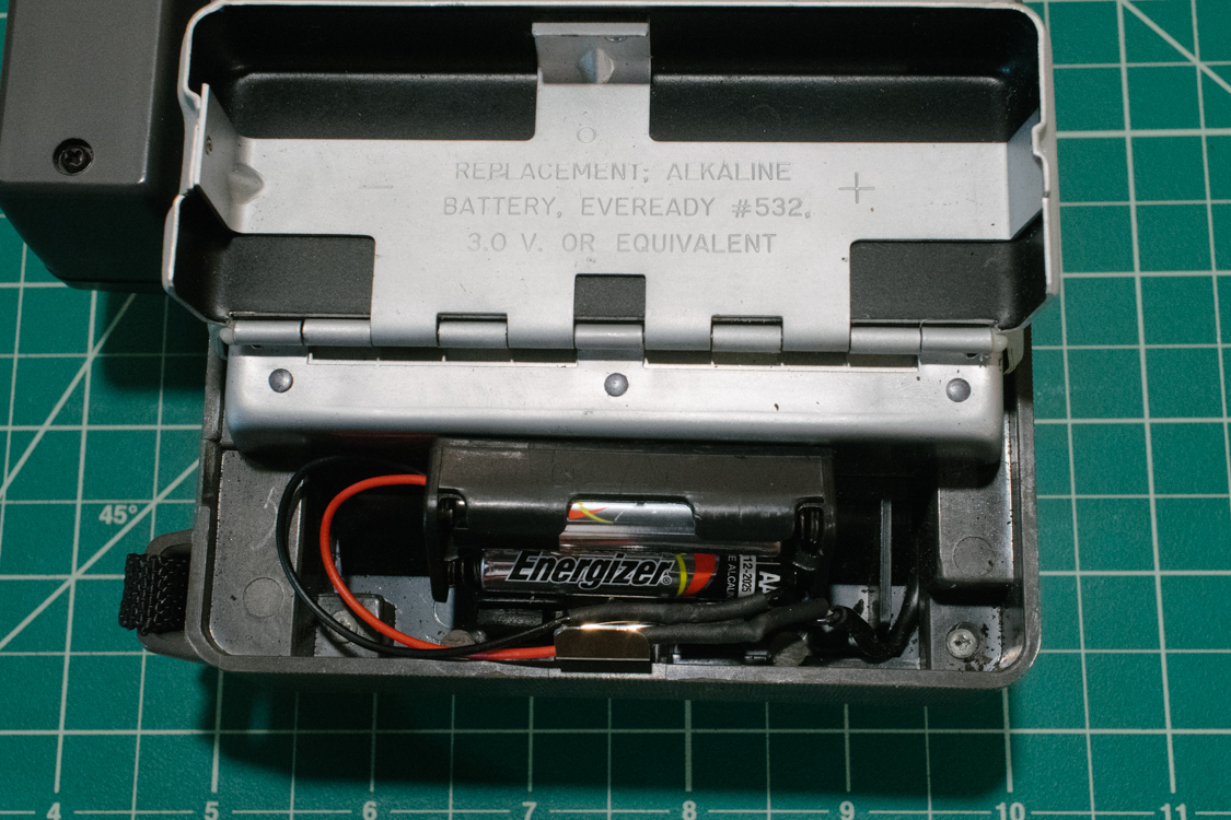 Complete battery conversion.