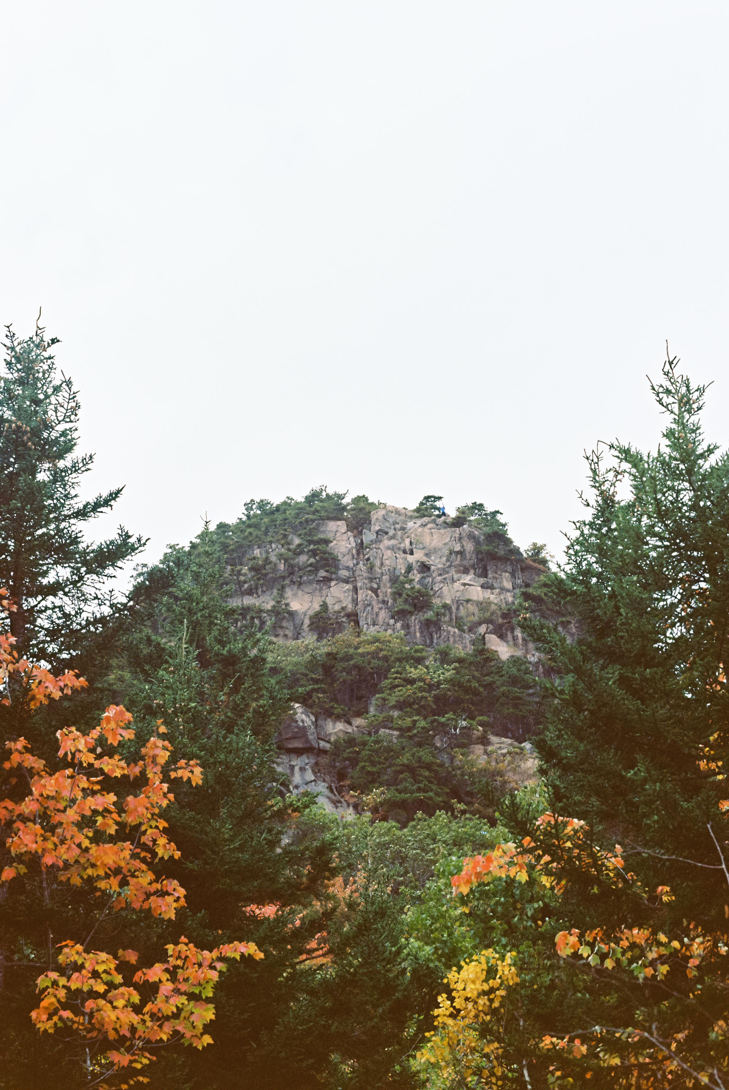 Beehive Trail. [Nikon F3 / 50 / Kodak Ektar ]