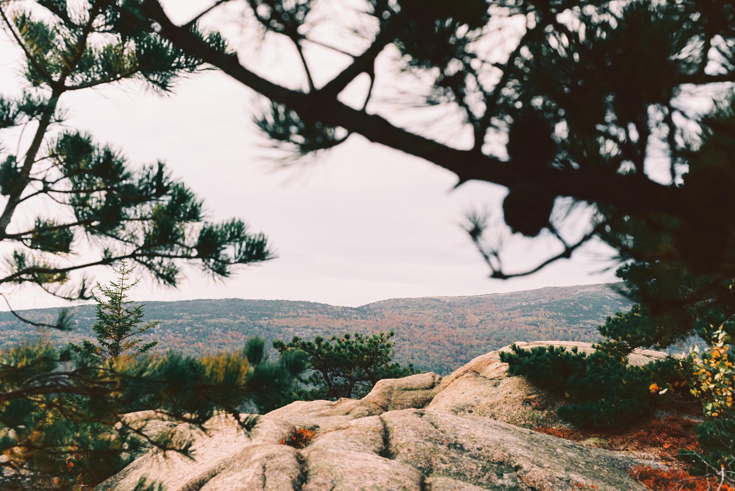 """Below the summit and above """"The Bowl"""". [Nikon F3 / 50 / Kodak Ektar]"""