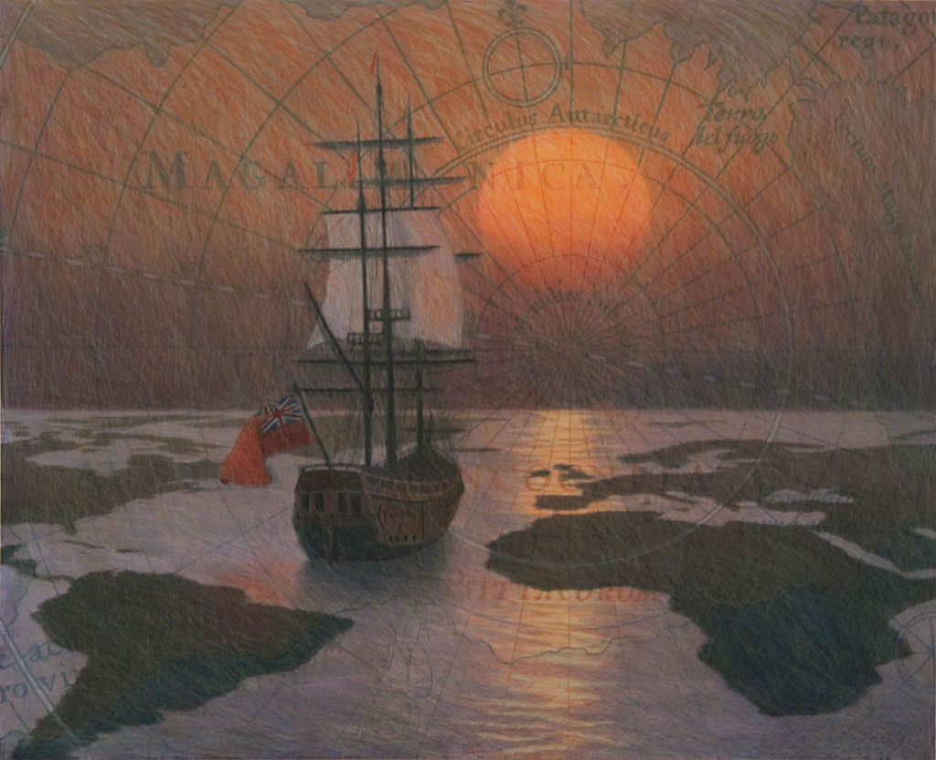 Inland Sea VI - Study for Afterglow.jpg