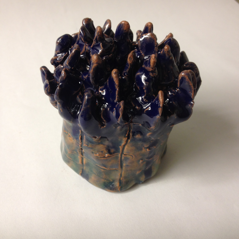 Ceramic coral. Grade 6