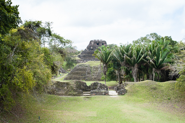 El Castillo - main temple building at Xunantunich.  Yes, we went to the top of that.