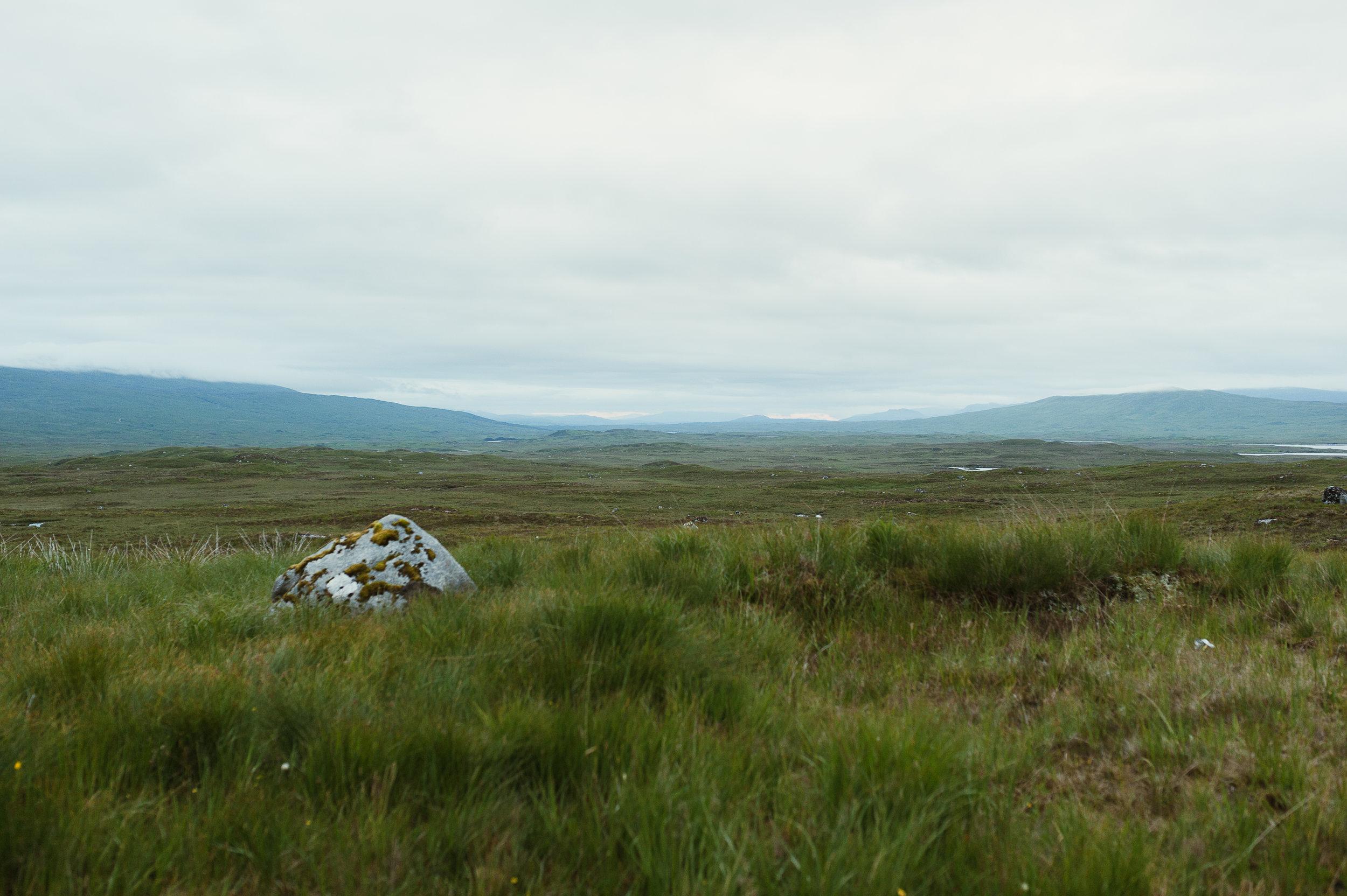 the Scottish moors