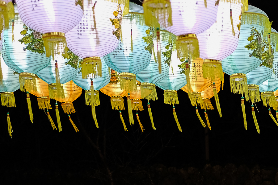 Stunning lanterns in all colors