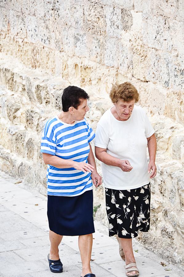 Mdina local Maltese women