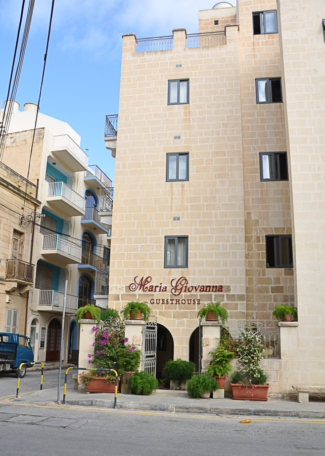 Our comfortable guesthouse in Xlendi