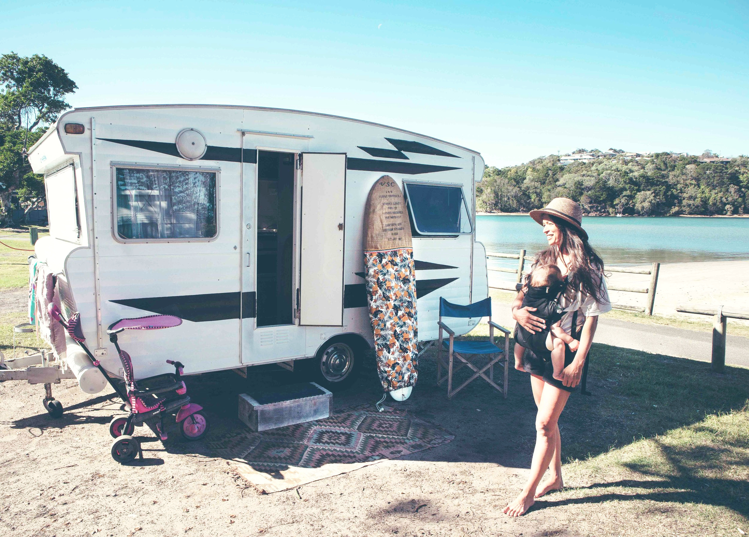 Caravaning with a baby