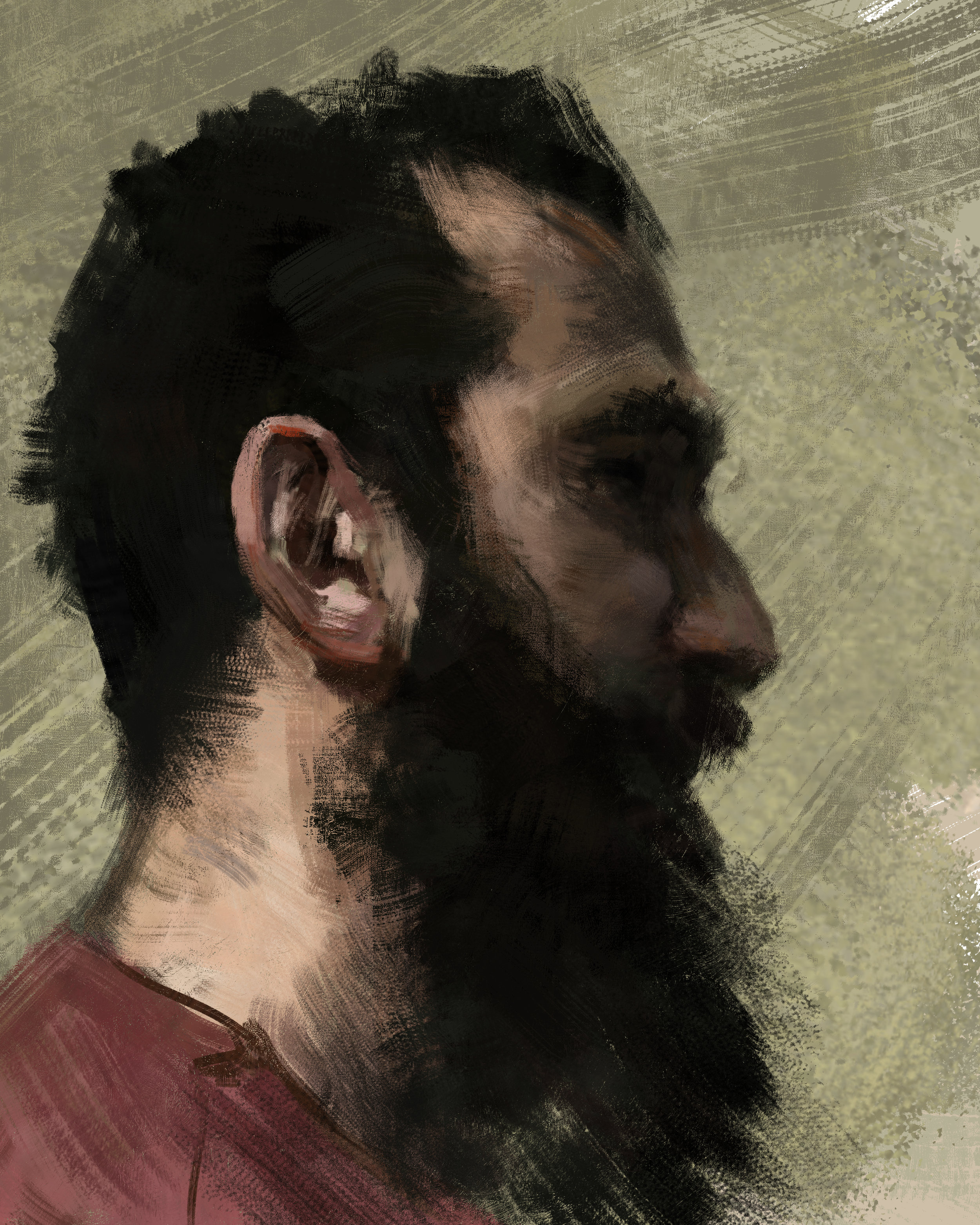 45 minute portrait study