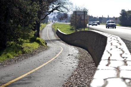 Yountville Mile Bike Lane | RSA+