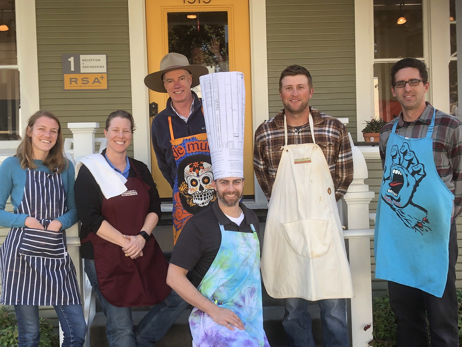 2nd Place Winner - (solely because of the 10-gallon hat)Too Many Cooks in the Kitchen