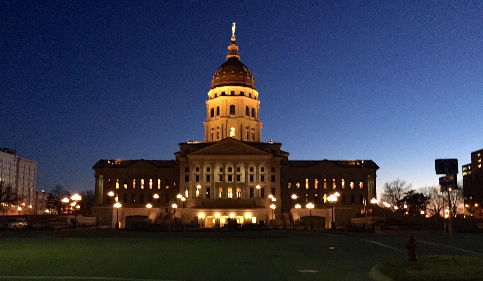 Kansas State Capital - Sam Zeff