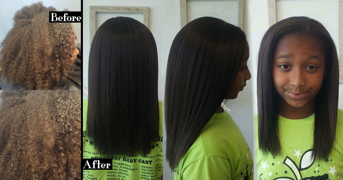 Natural Keratin Smoothing Treatment