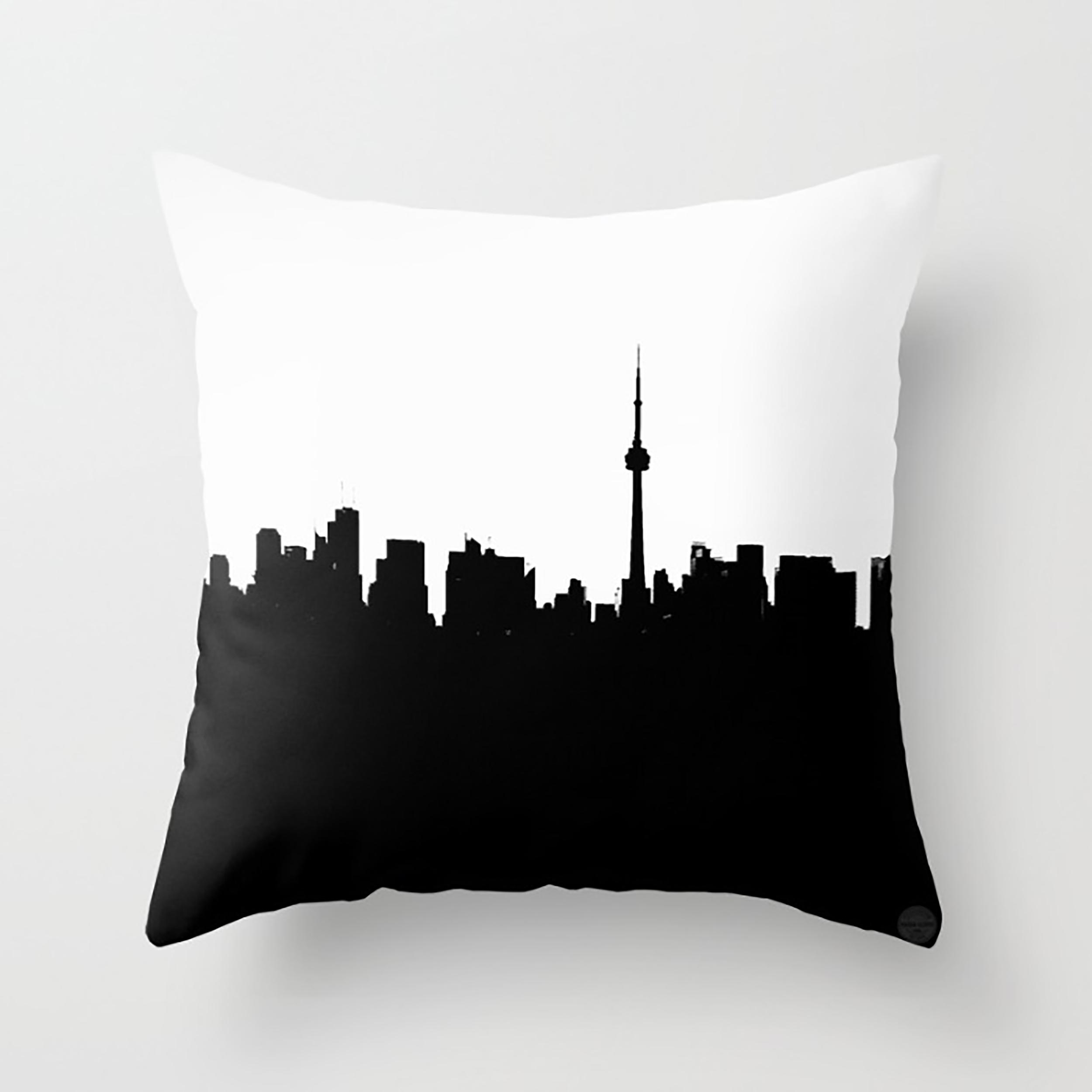 Toronto by Nadia Lloyd- Cushion