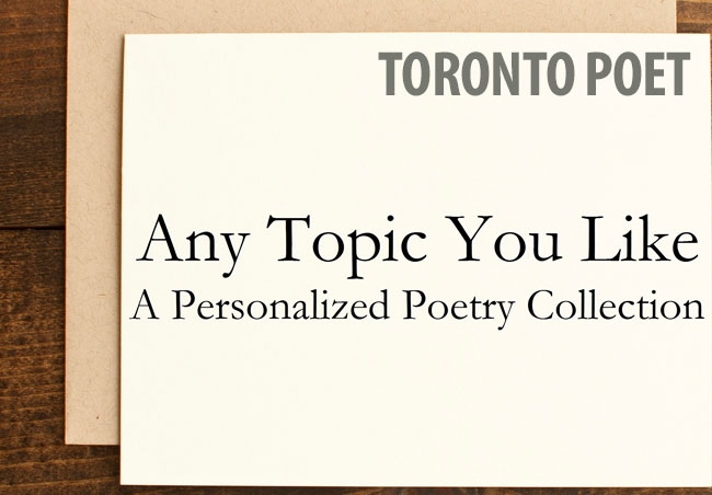 Alan Bo, Toronto poet