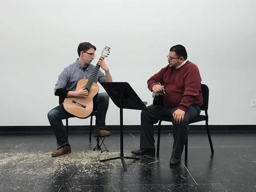 Masterclass with Isaac Bustos