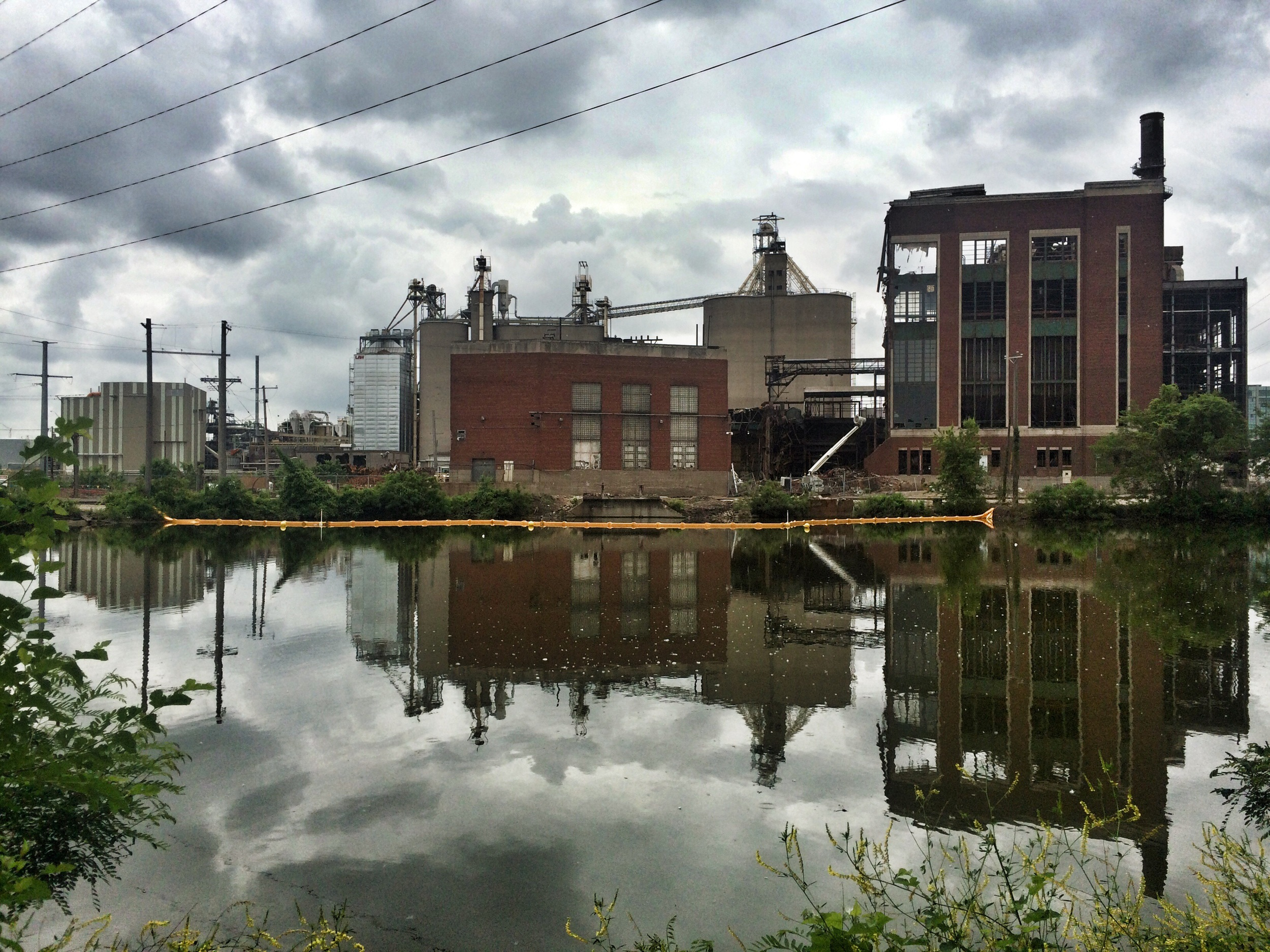 Post apocalypse industry in Cedar Rapids