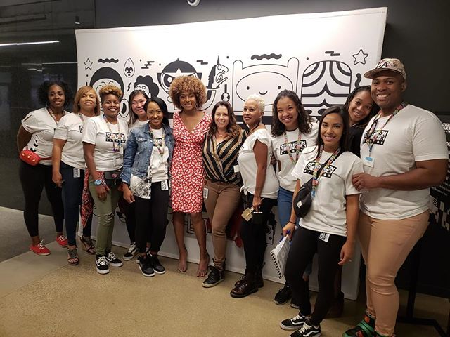 Thank you to all the staff & volunteers to making this an amazing historical event! A Wynn Wynn Production is happy to help support #blackwomenanimate & #cartoonnetwork #tv #vr #diversityandinclusion