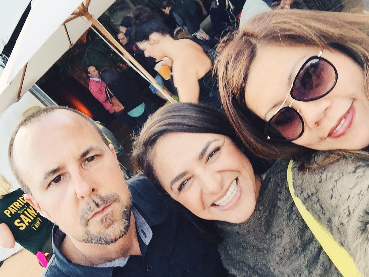 Selfie with Dave Graham of   Latitude 38