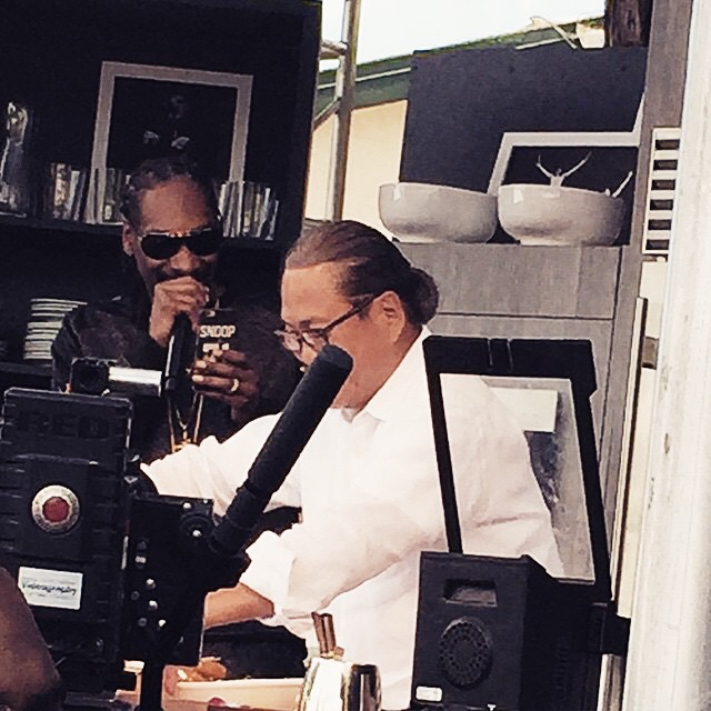 Only in Napa Valley - Snoop and Iron Chef Morimoto