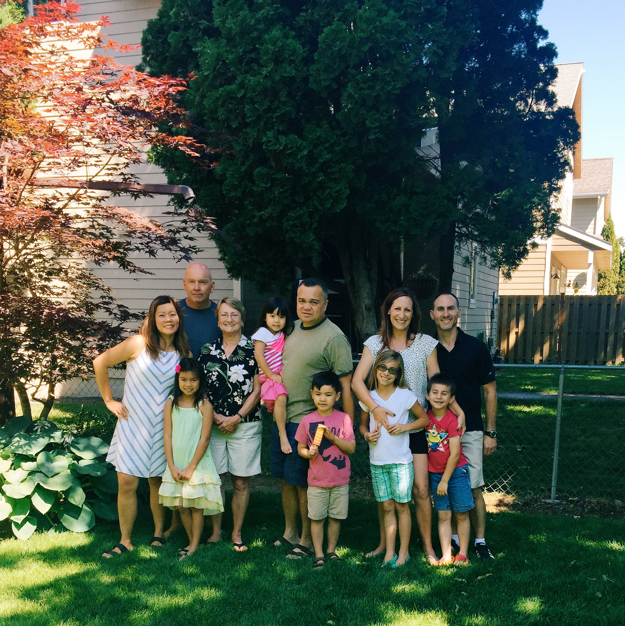 Scott's parents Steve and Grace and our friends the Piazzas