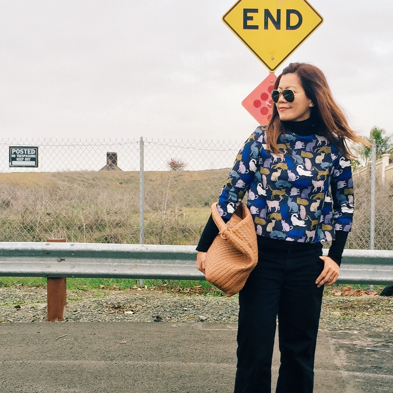 H&M  top /  Zara  pants