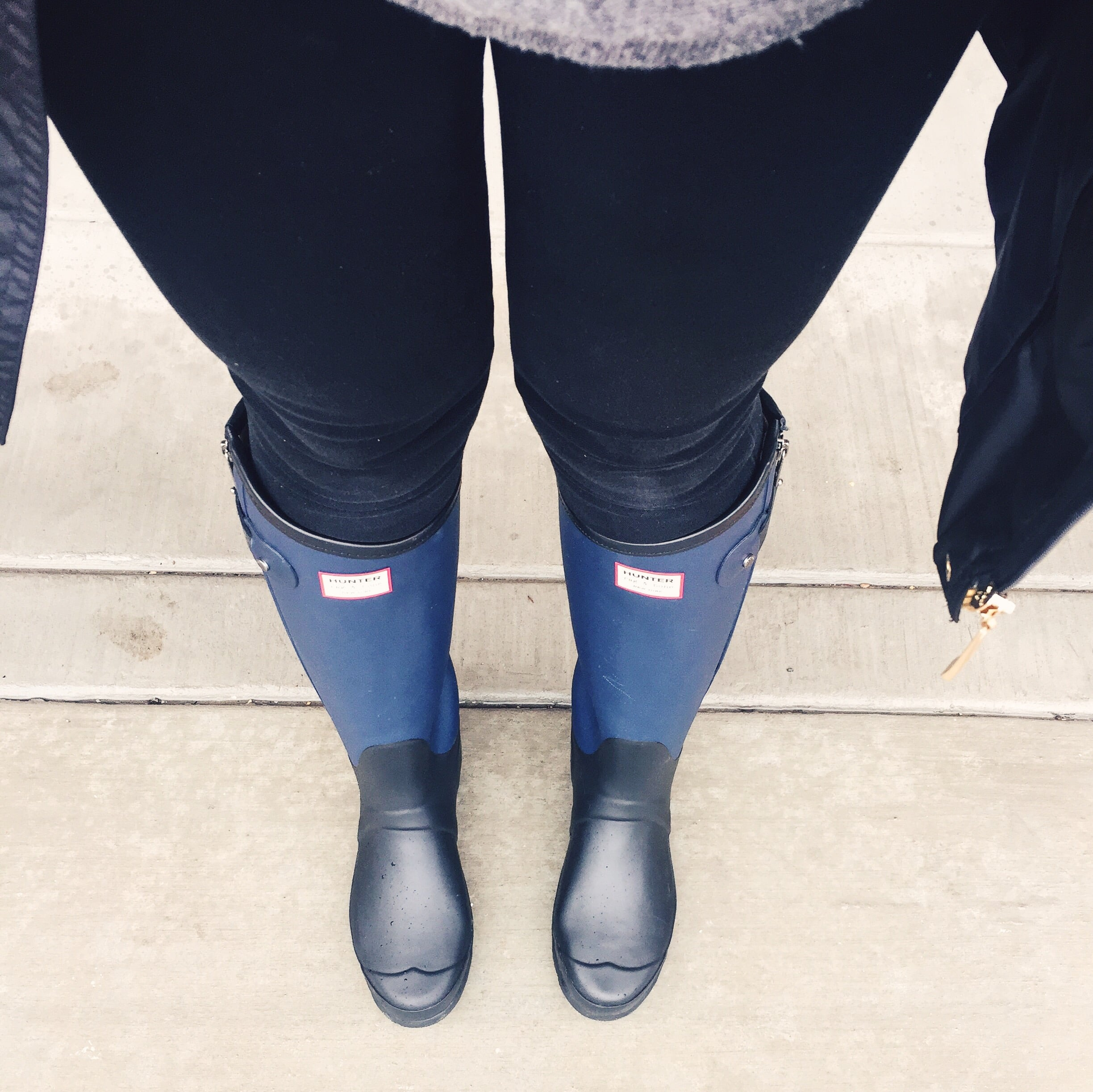 Hunter Boots (similar  here )
