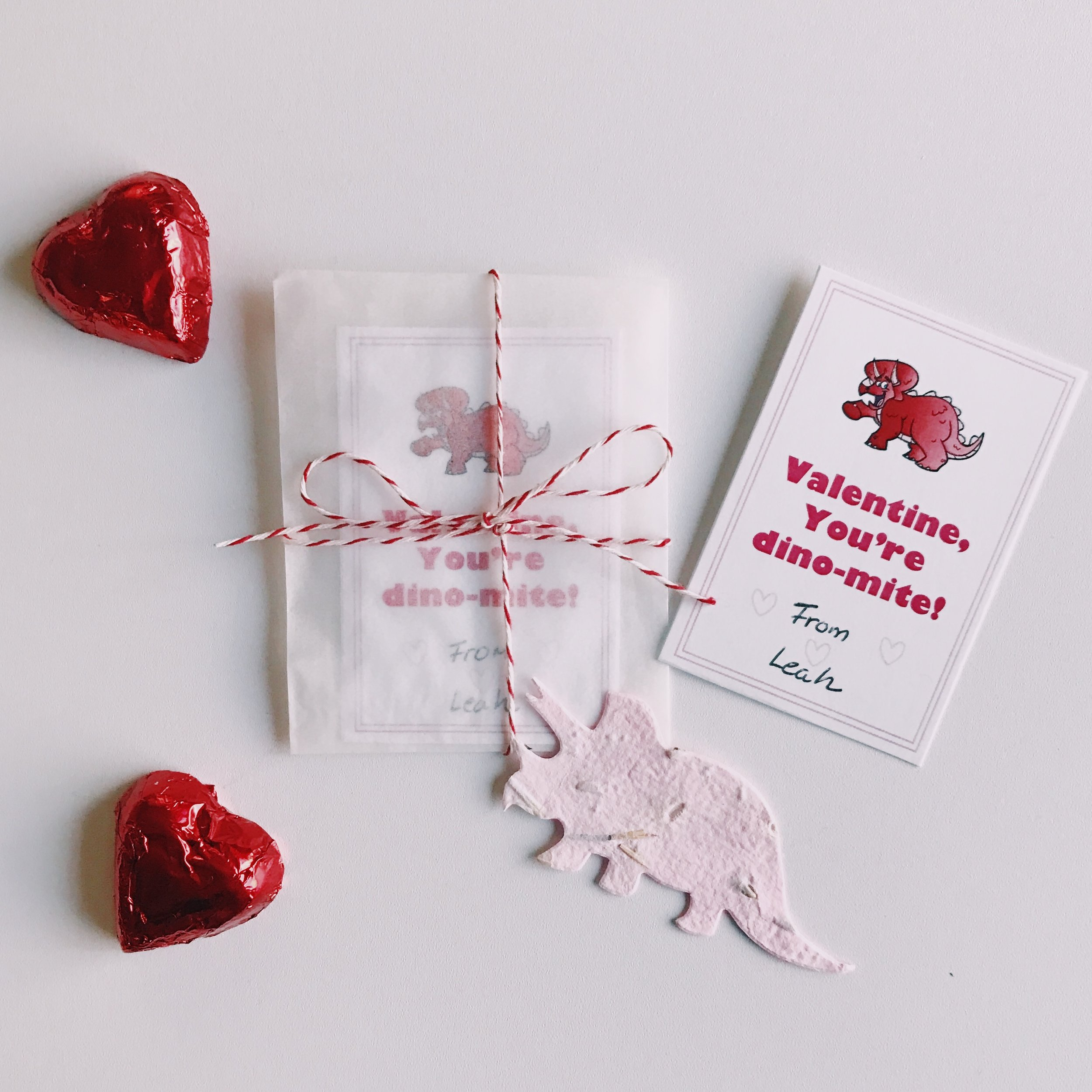 Valentine's card by  Recycled Ideas Favors.
