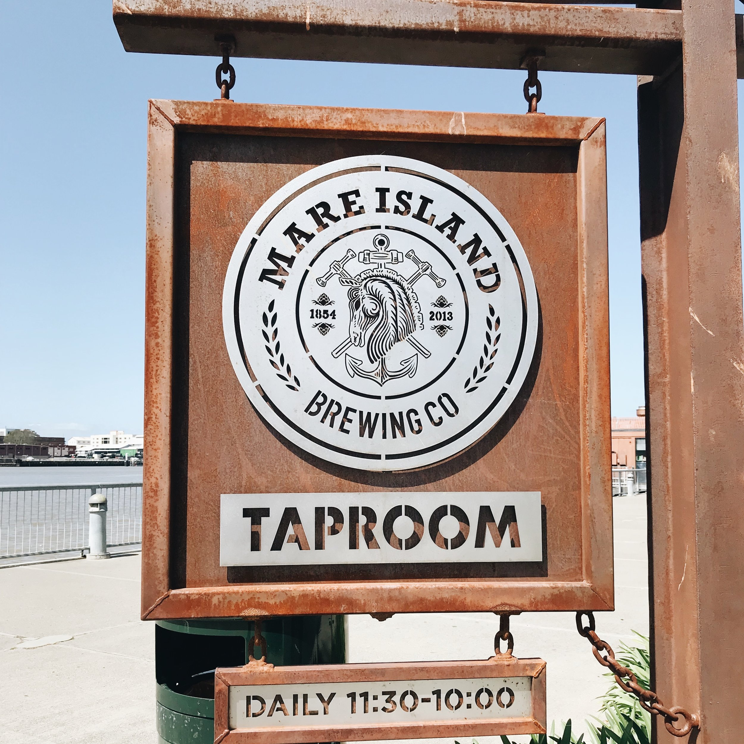 momlikethat - up bay finds mare island brewing co sign.JPG