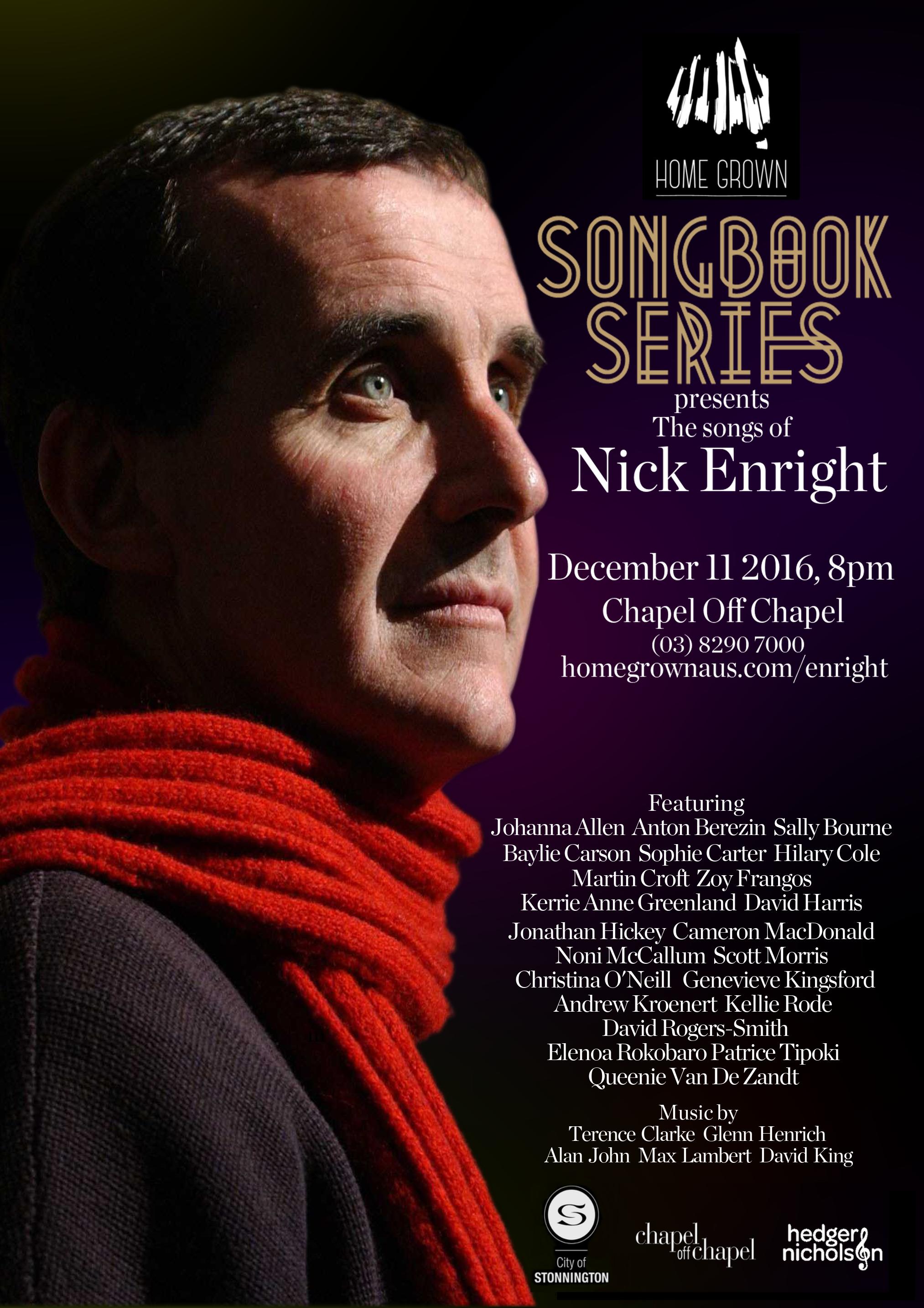 Nick Enright Songbook Series