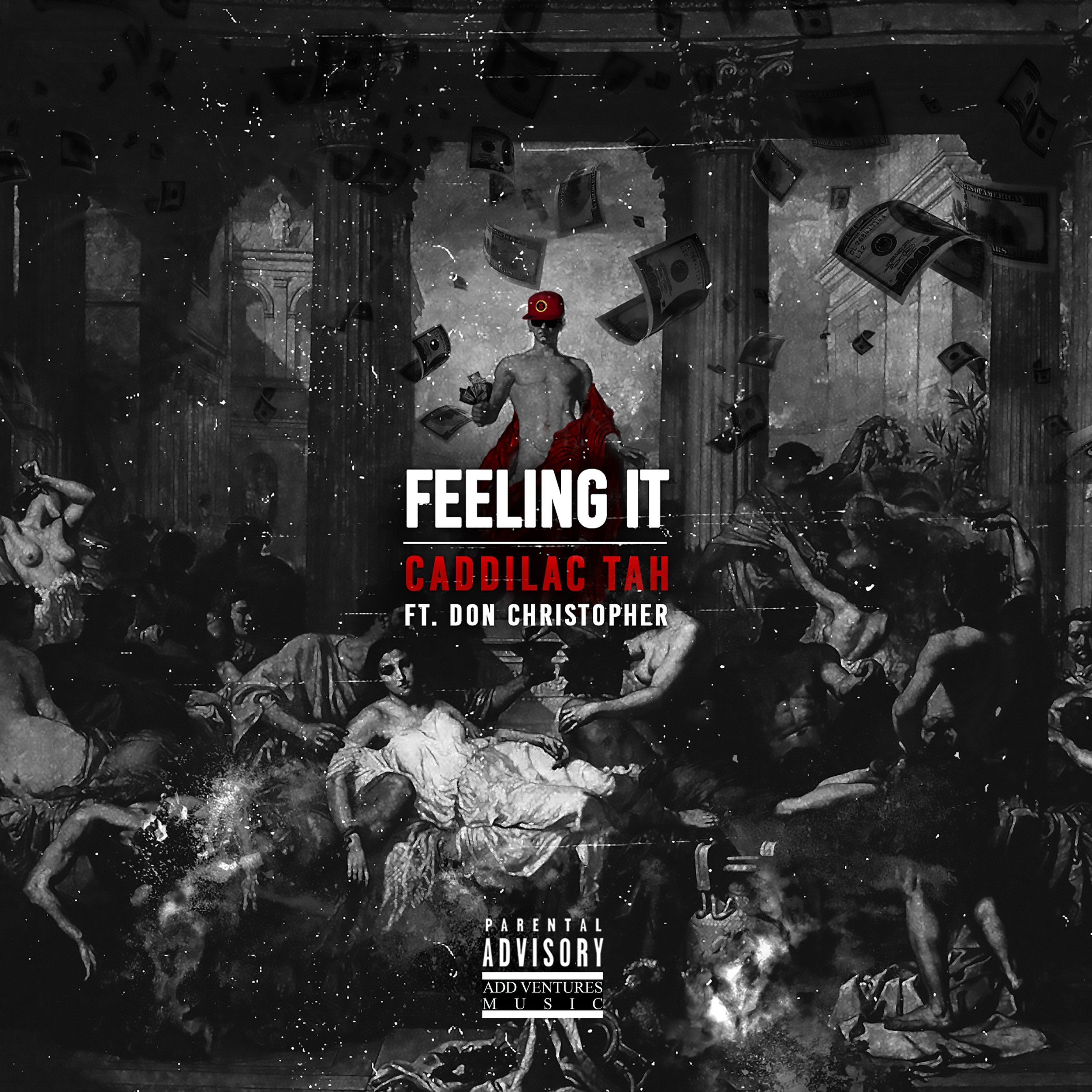Caddilac Tah - Feeling It - Single Cover  - Explicit.jpeg