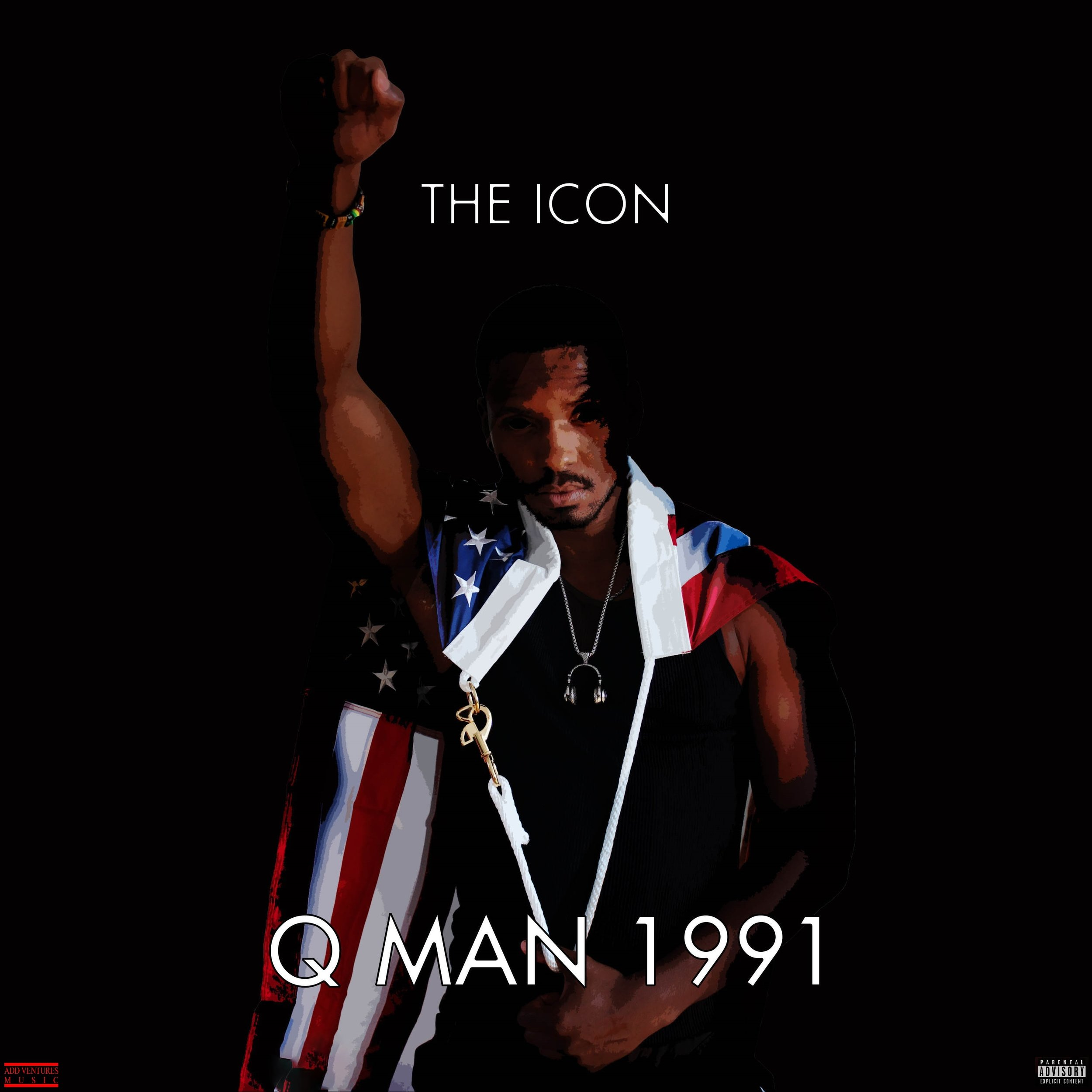 The Icon - Q MAN 1991 - Album cover - Explicit.jpg