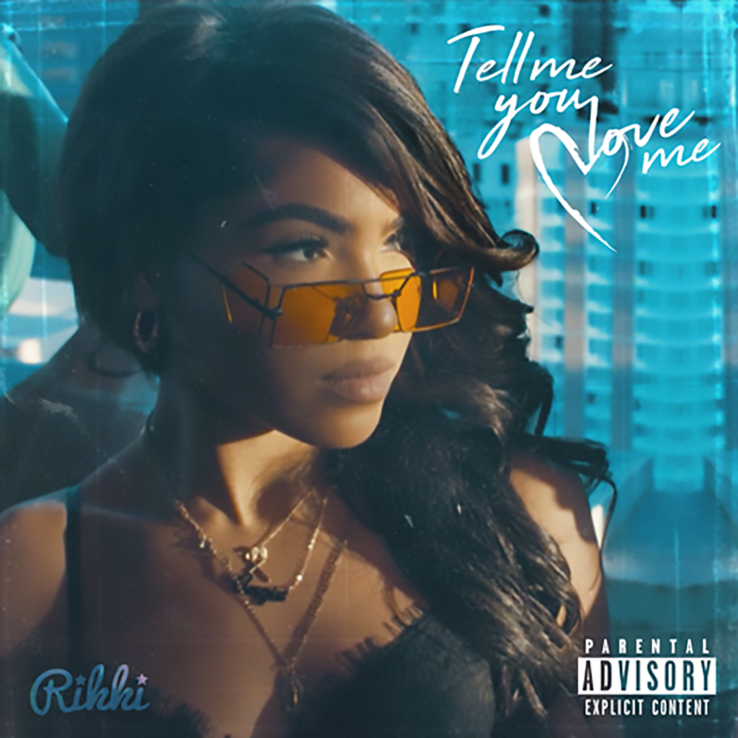 Rikki Woodlin - Tell Me You Love Me - Single cover.jpg