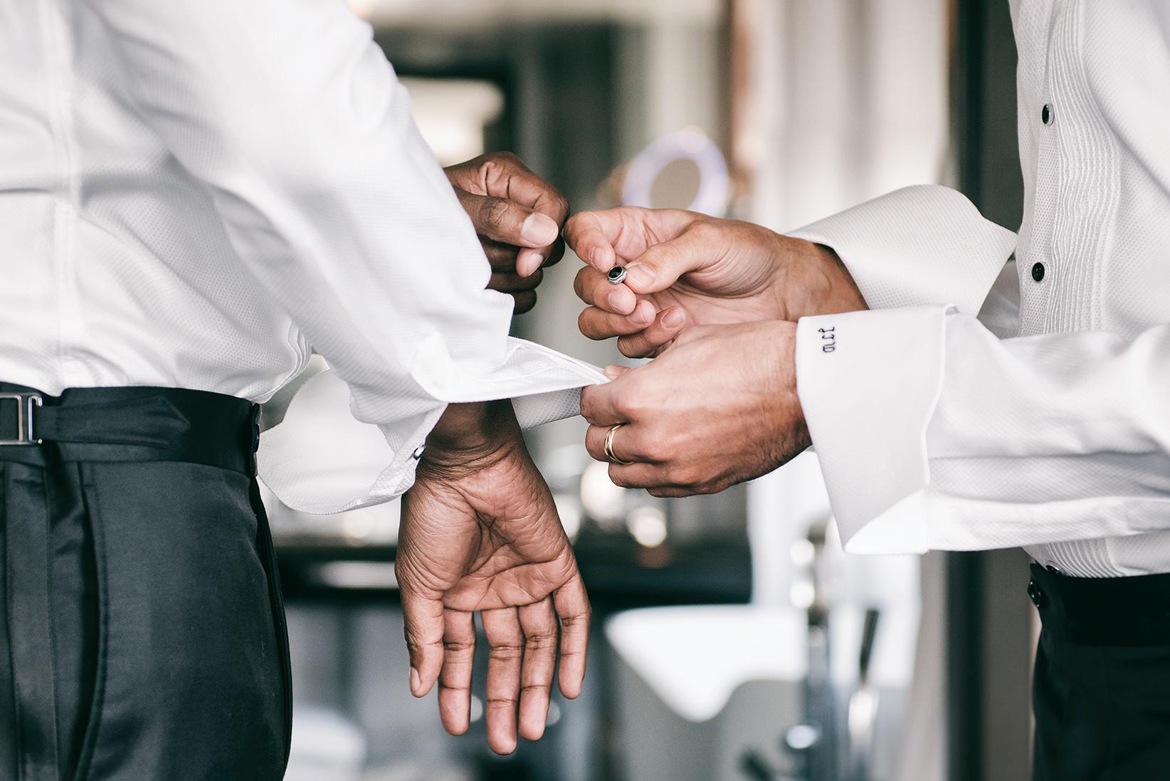 Cedric Wilson & Tyler Walker Wedding Cufflinks