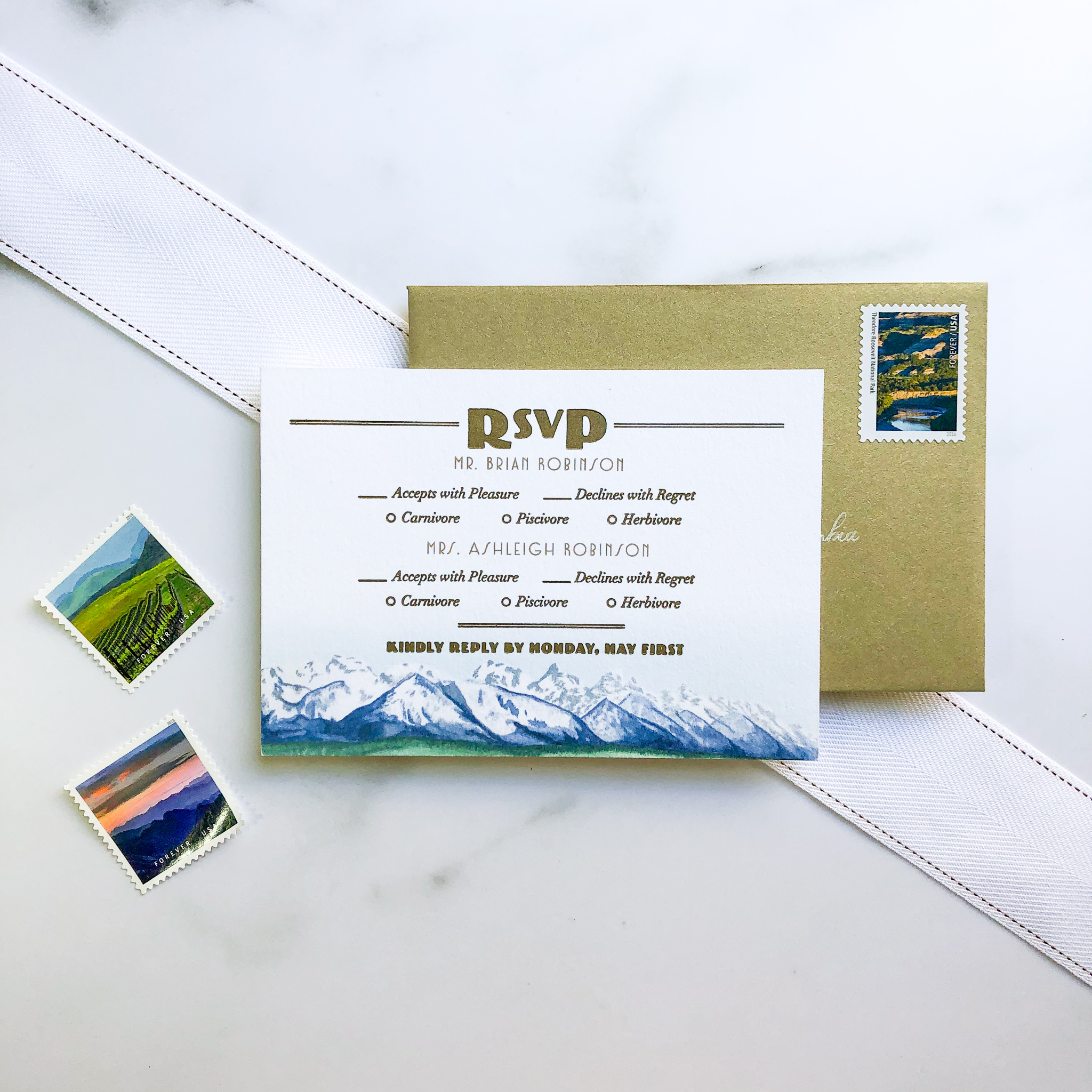 TypeA_NationalParkWedding_GoldAndWhite_RSVPcard_ModernArtDeco.jpg