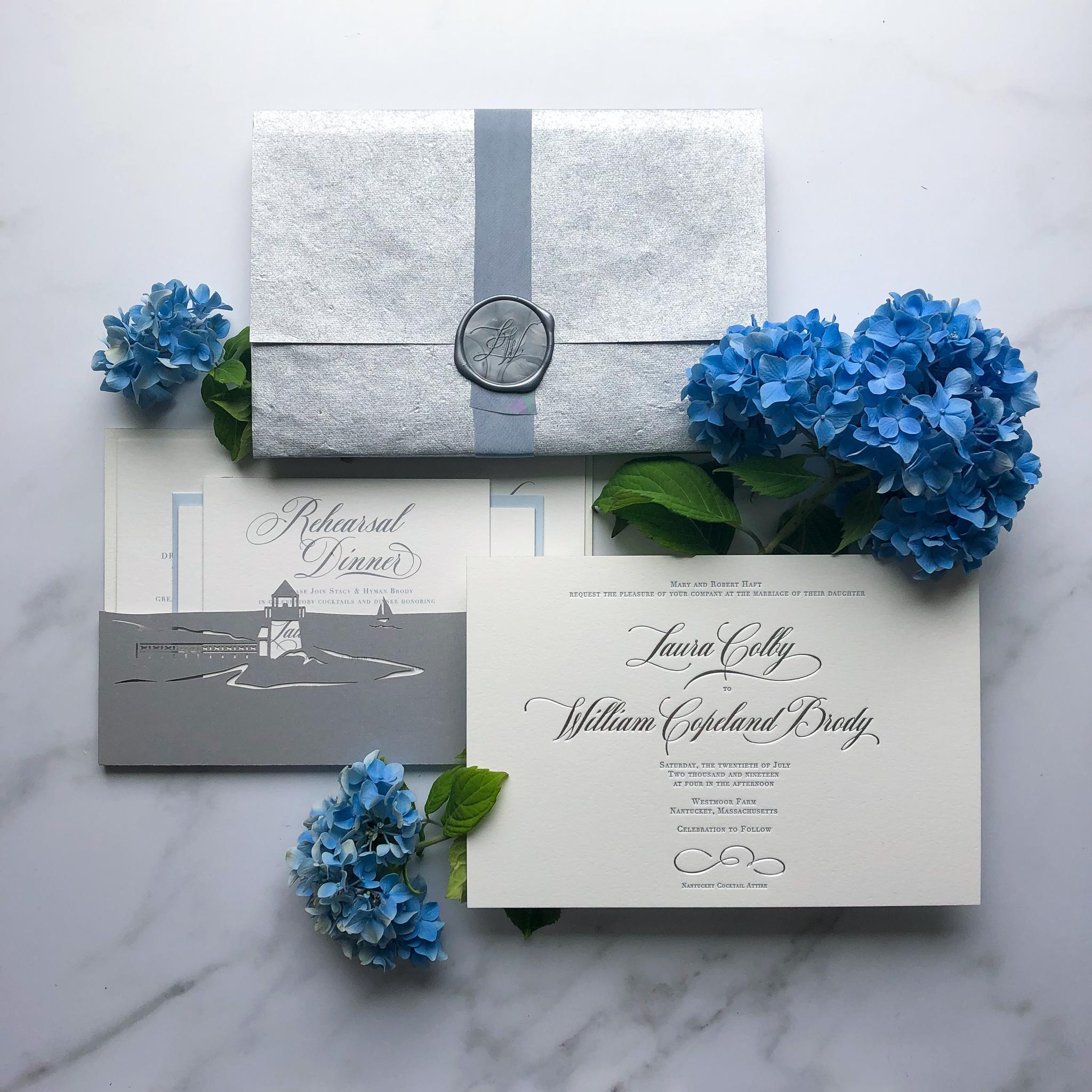 TypeAInvitations_Nantucket_SilverBlue_Wedding_FormalInvitation_SilverFoilStamping_LaserCutPocketBacking_Hydrangeas.jpg