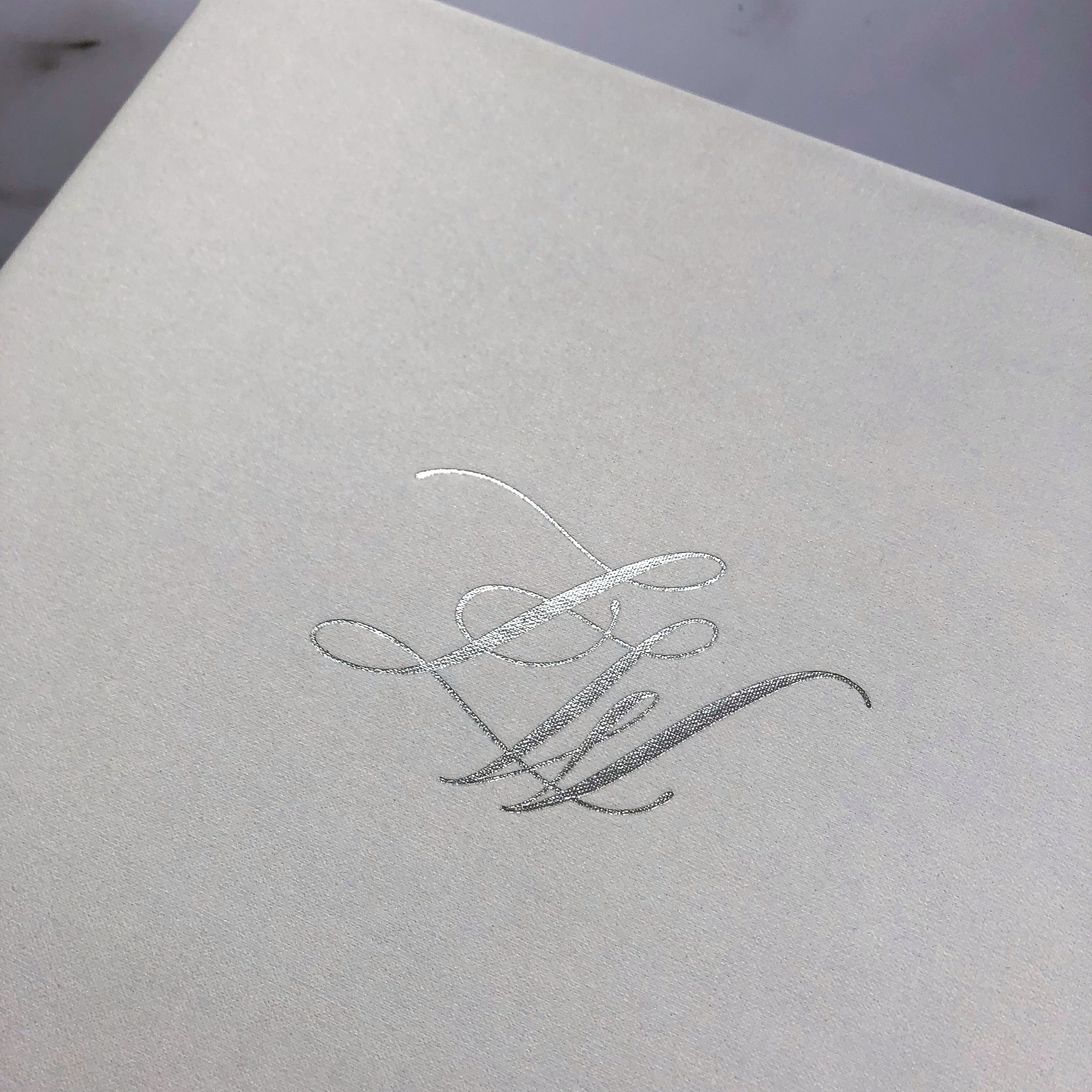 Monogram, Guestbook, & Photography: Type A Invitations