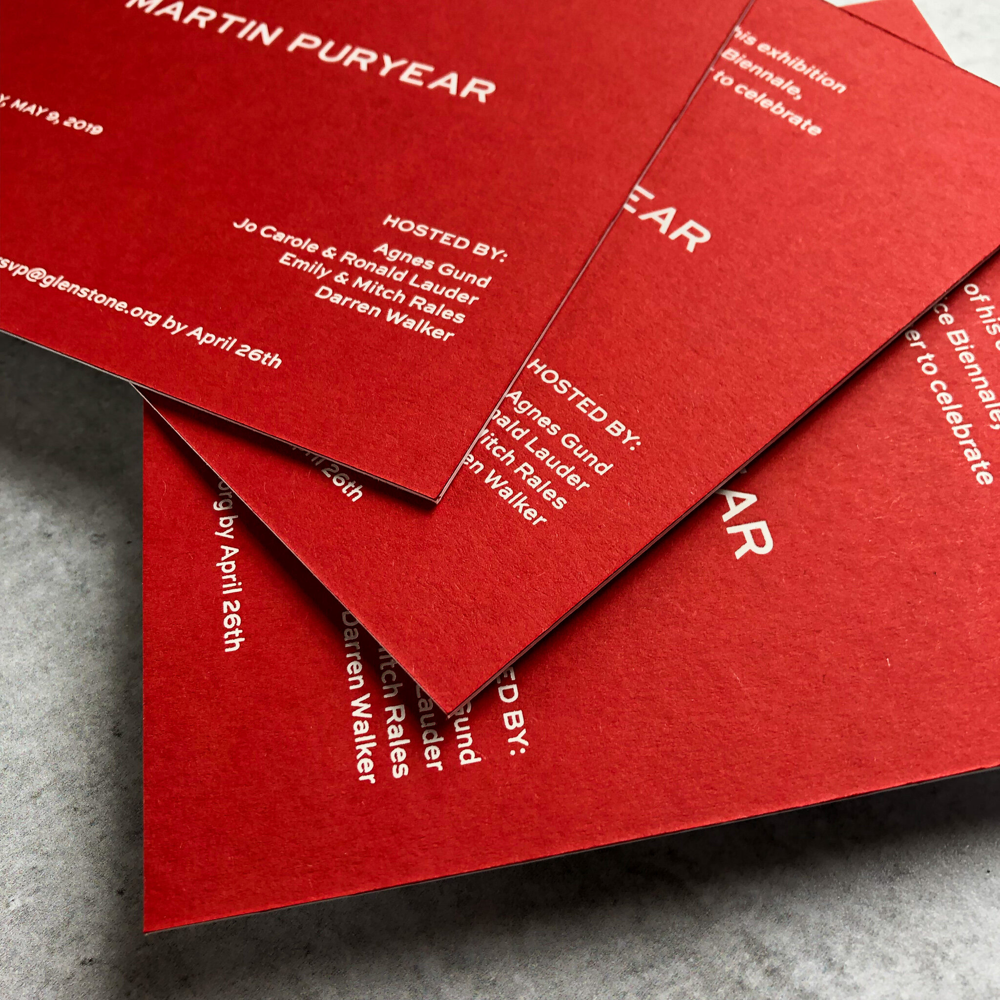 TypeAInvitations_CelebratingMartinPuryear_HostedByGlenstone_PartyInvitation-WhiteFoilPrinting_spread-detail.jpg