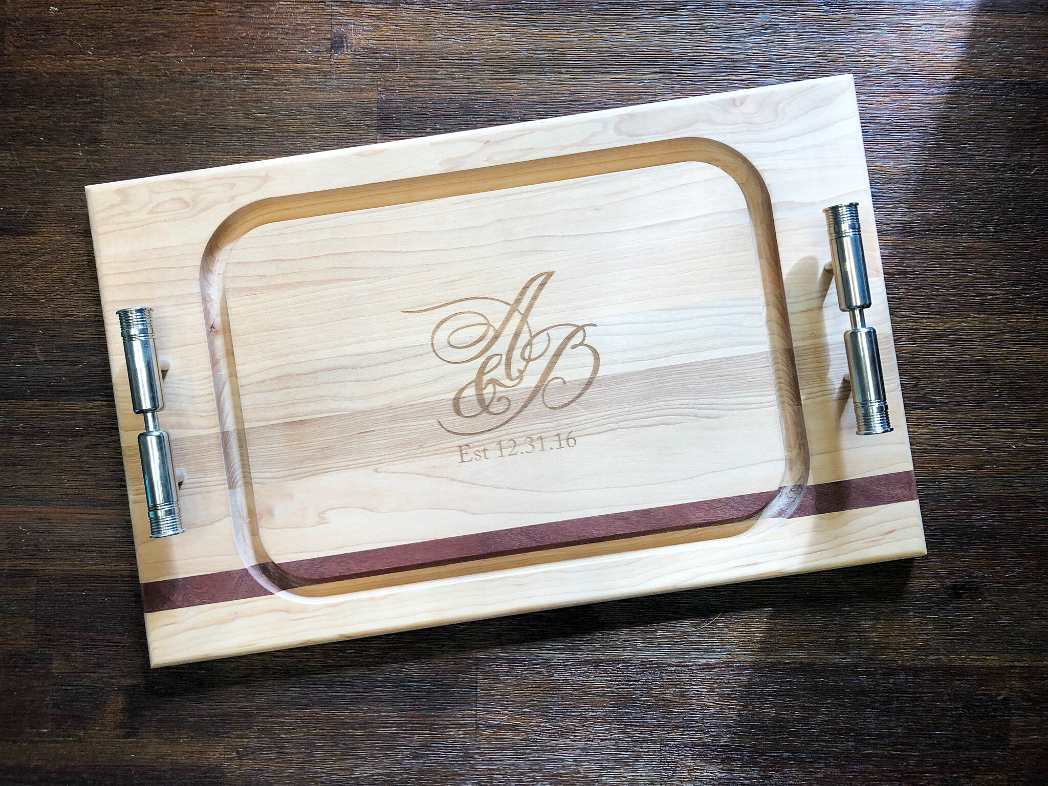 Monogram & Photography: Type A Invitations | Board created by:  Soundview Millworks