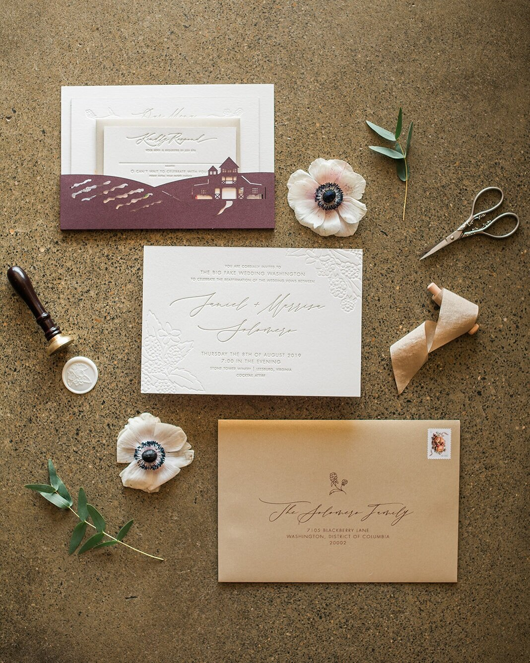 TypeA-Invitations_LetterpressWeddingInvitations_Gold_BerryPurpleRed_WineryWedding_BlackberryFarm_Waxseal_customIllustrations_bespokedesign_chelsea-blanch-photography-BFW-DC-32_websize.jpg