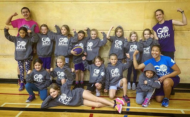 The Div 3 little ladies rocking their new hoodies.
