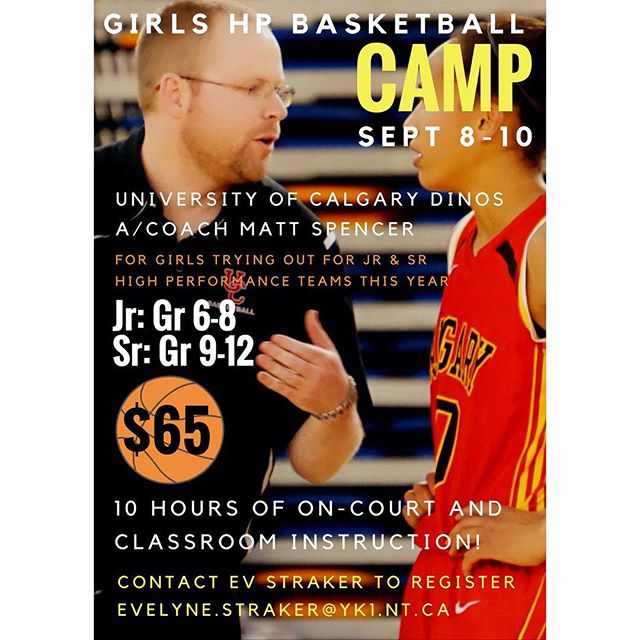 GOBallers wanting to try out for high performance teams this year should check out this camp!