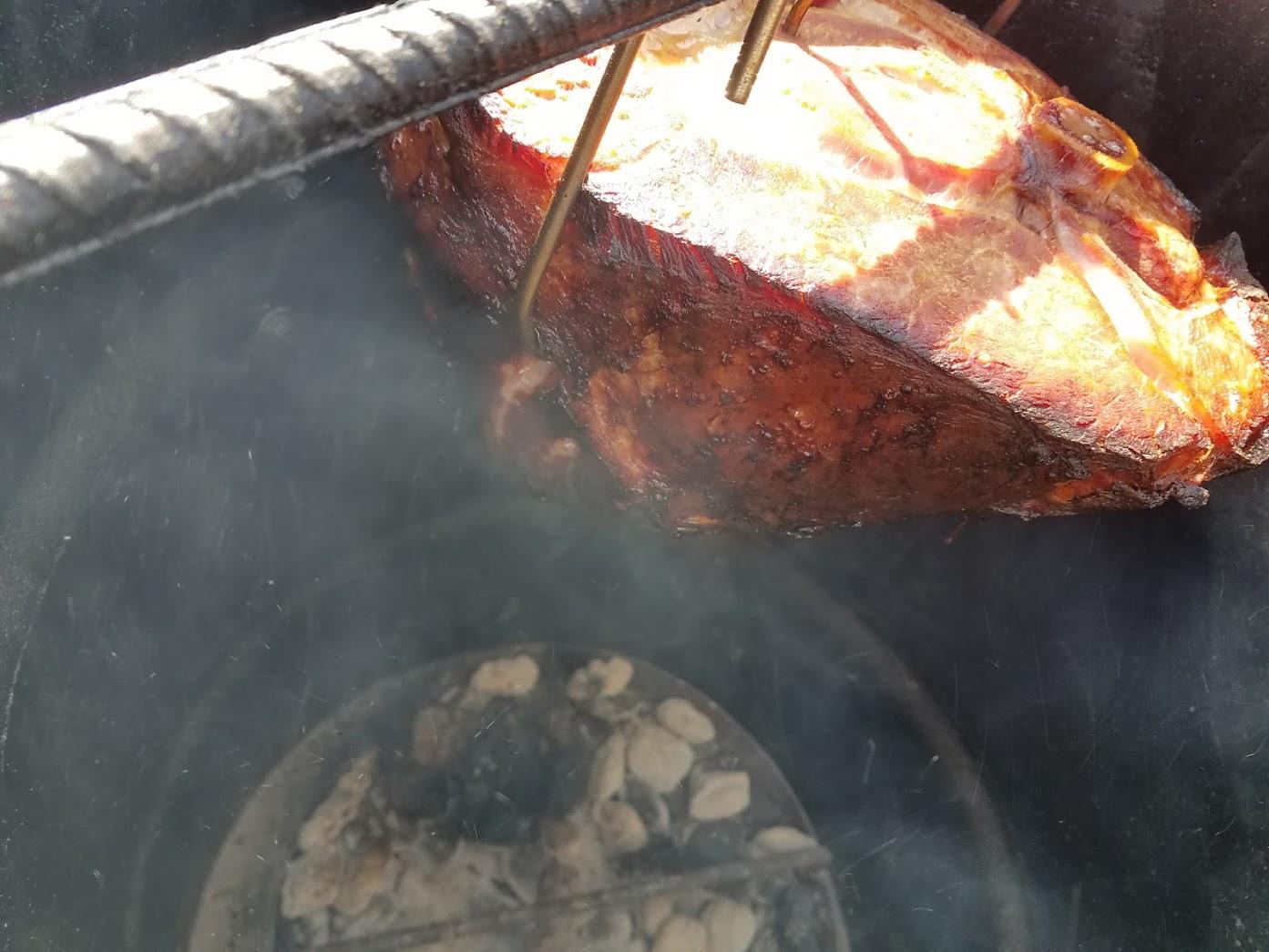 A Pit Barrel Cooker - Ham-tastic Easter