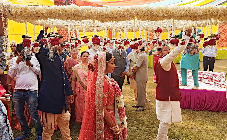 Indian marwadi bride